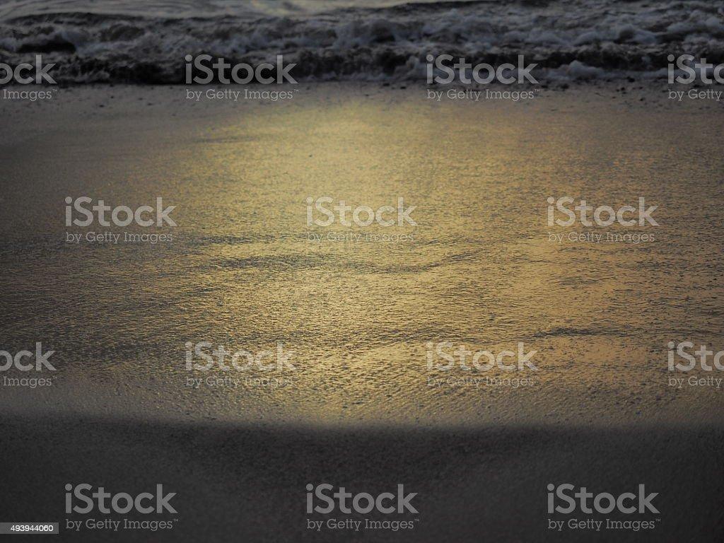 Coucher de soleil à 35 photo libre de droits