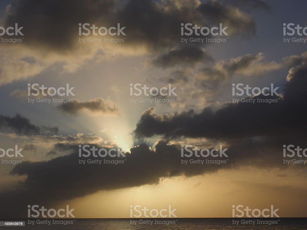 Coucher du soleil de 41 photo libre de droits