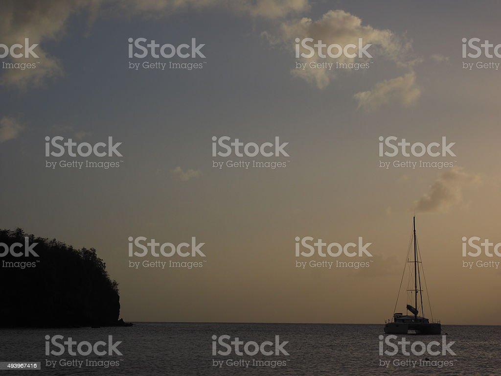 Coucher du soleil de 54 photo libre de droits