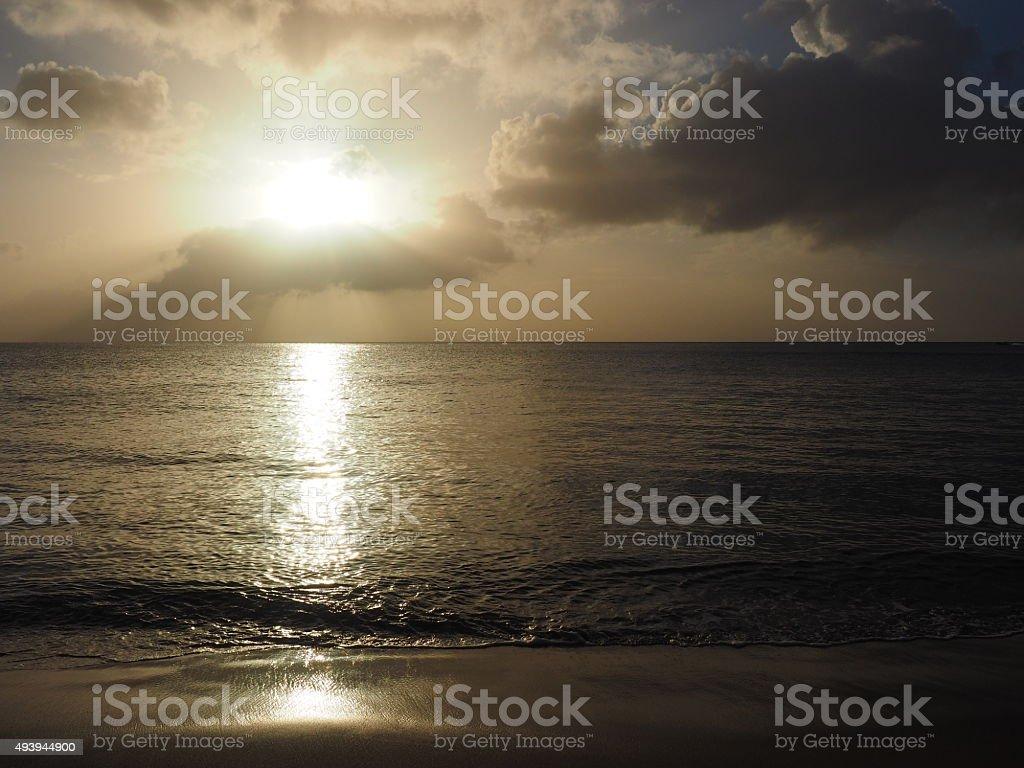Coucher du soleil de 57 photo libre de droits