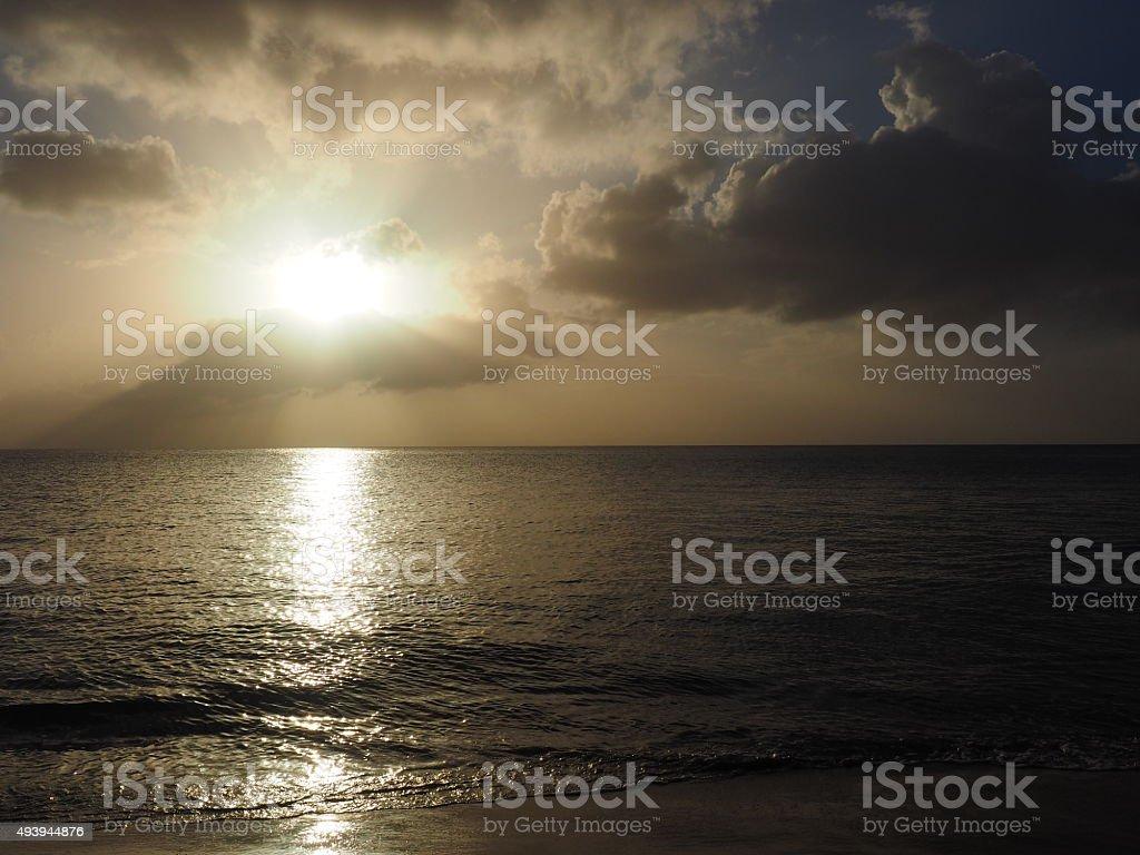 Coucher du soleil de 59 photo libre de droits