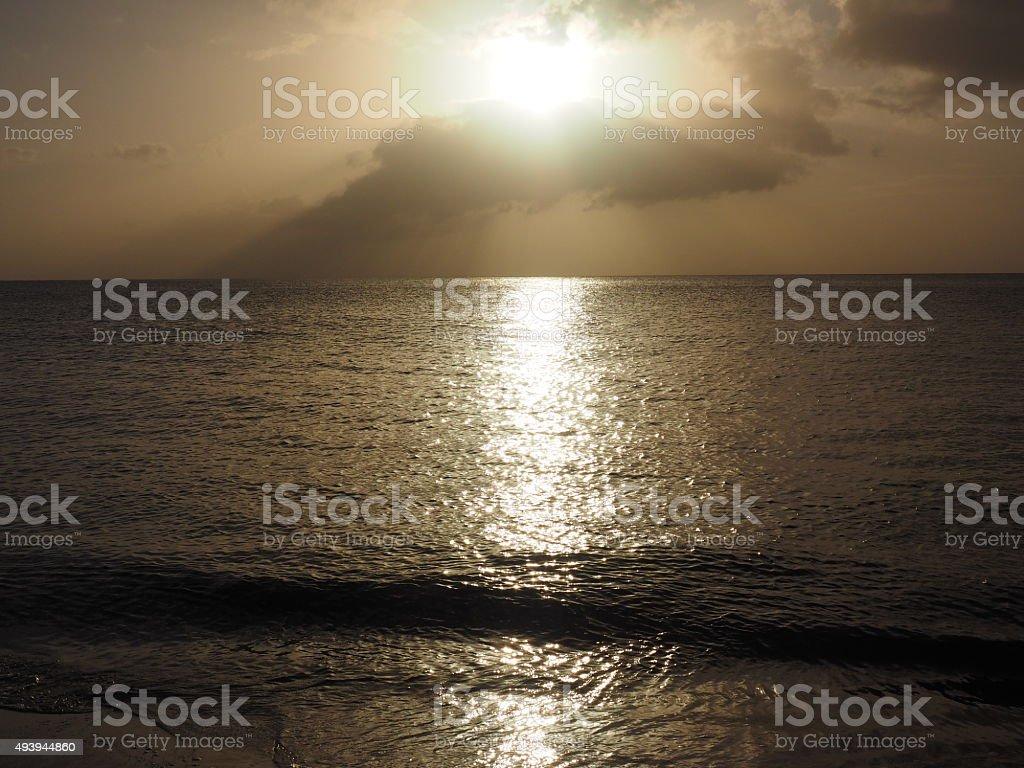 Coucher du soleil de 60 photo libre de droits