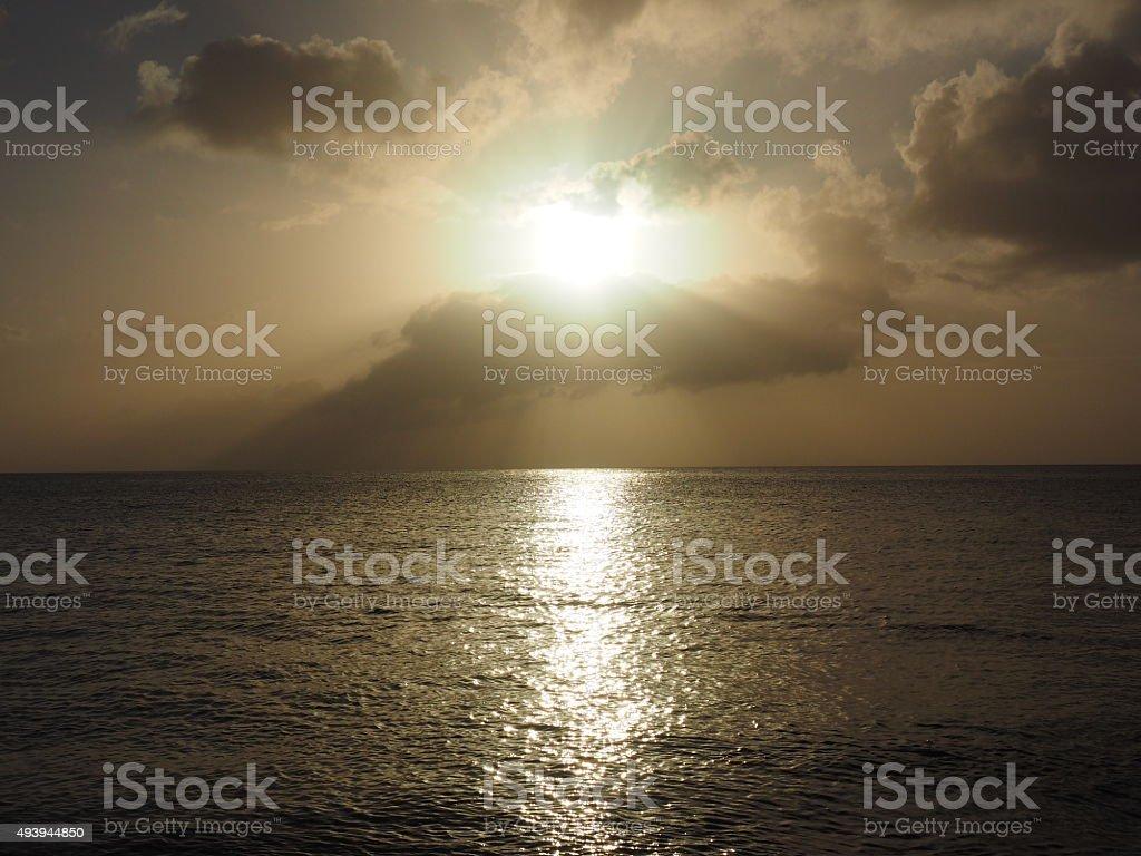 61 au coucher du soleil photo libre de droits