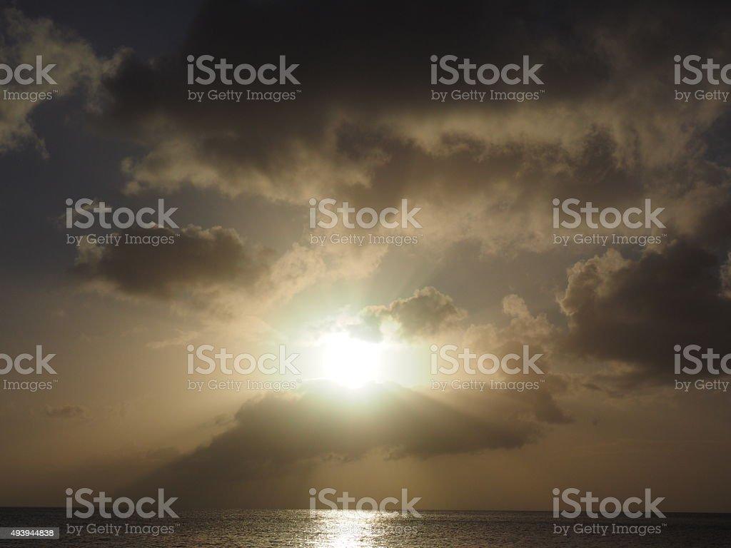 62 au coucher du soleil photo libre de droits