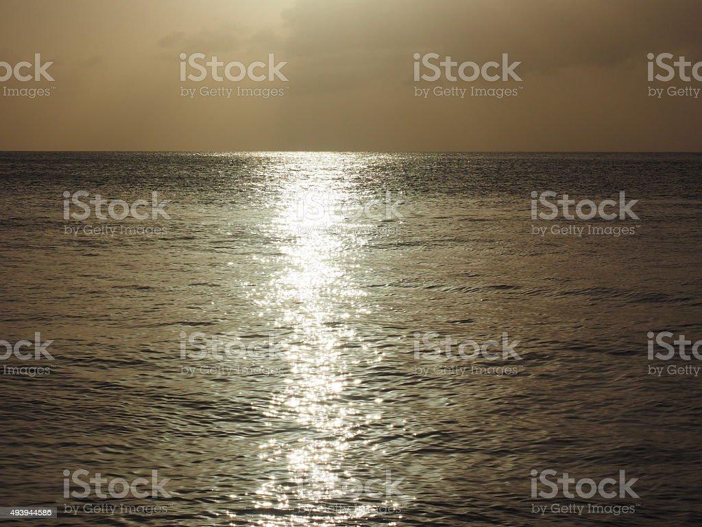 77 au coucher du soleil photo libre de droits