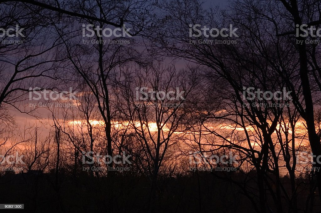 Sunset After Storm royalty-free stock photo