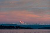 Sunset and Mt. Baker, Washington