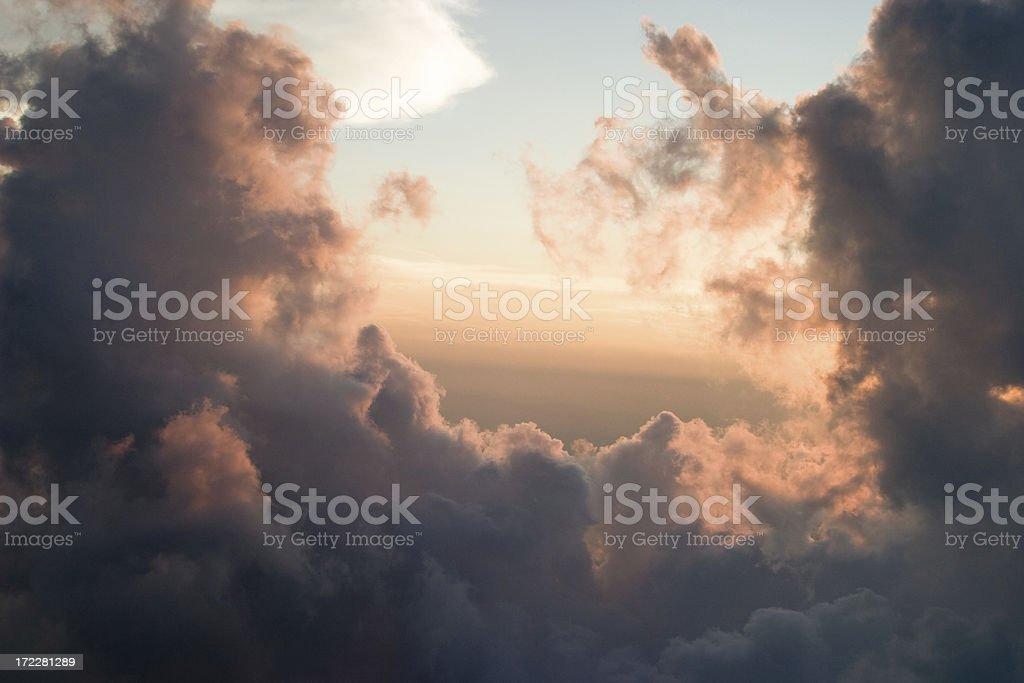 Sunset at 5000 Feet royalty-free stock photo