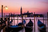 Sunset At Venice
