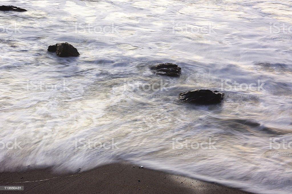 Sunset beach II royalty-free stock photo