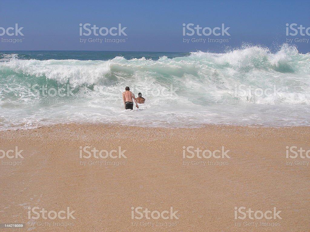 Sunset Beach, North Shore, Oahu, Hawaii royalty-free stock photo