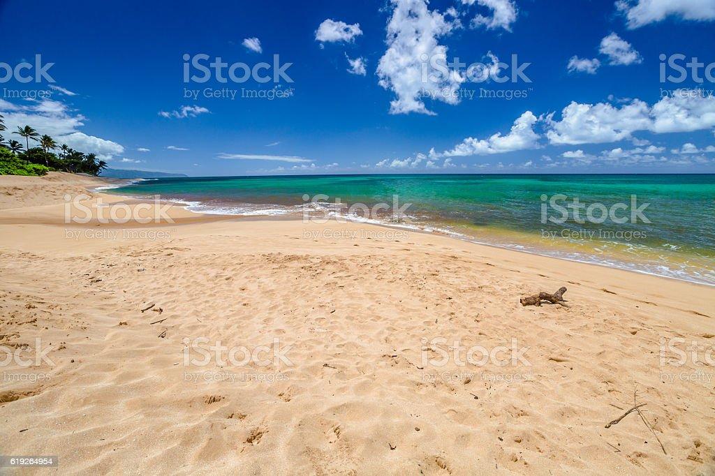 Sunset Beach North Shore stock photo