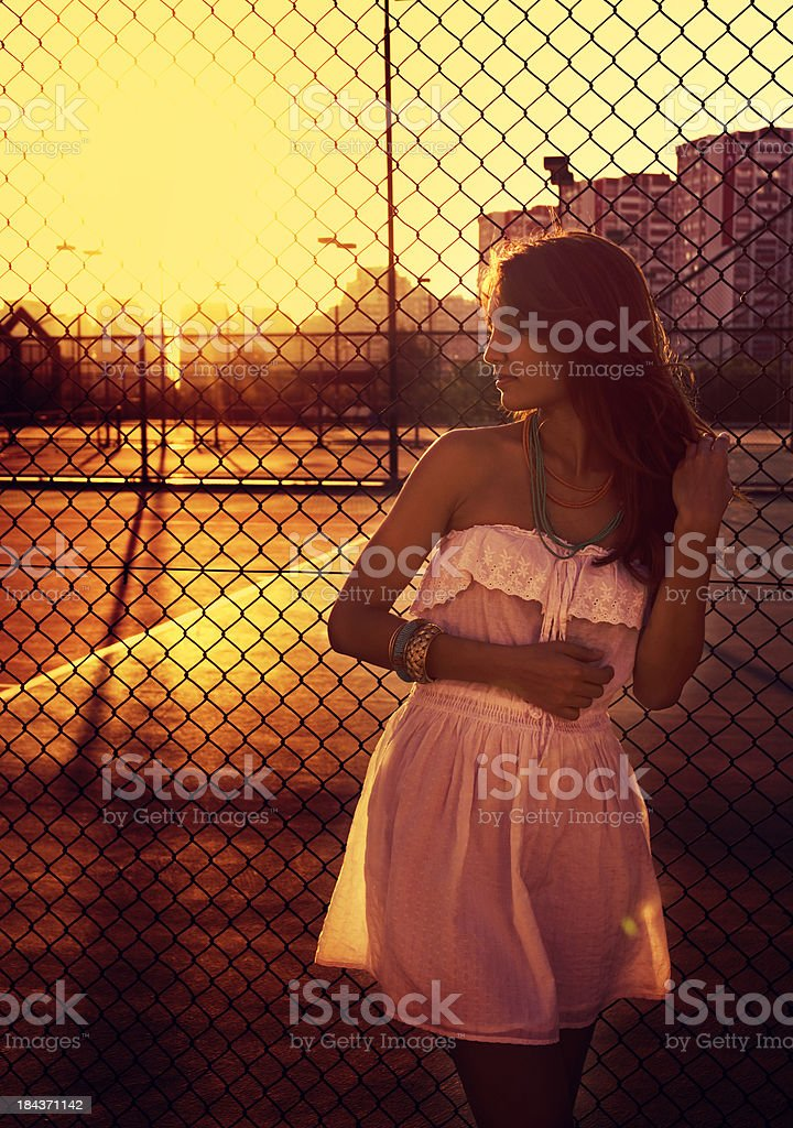 Sunset Beauty stock photo