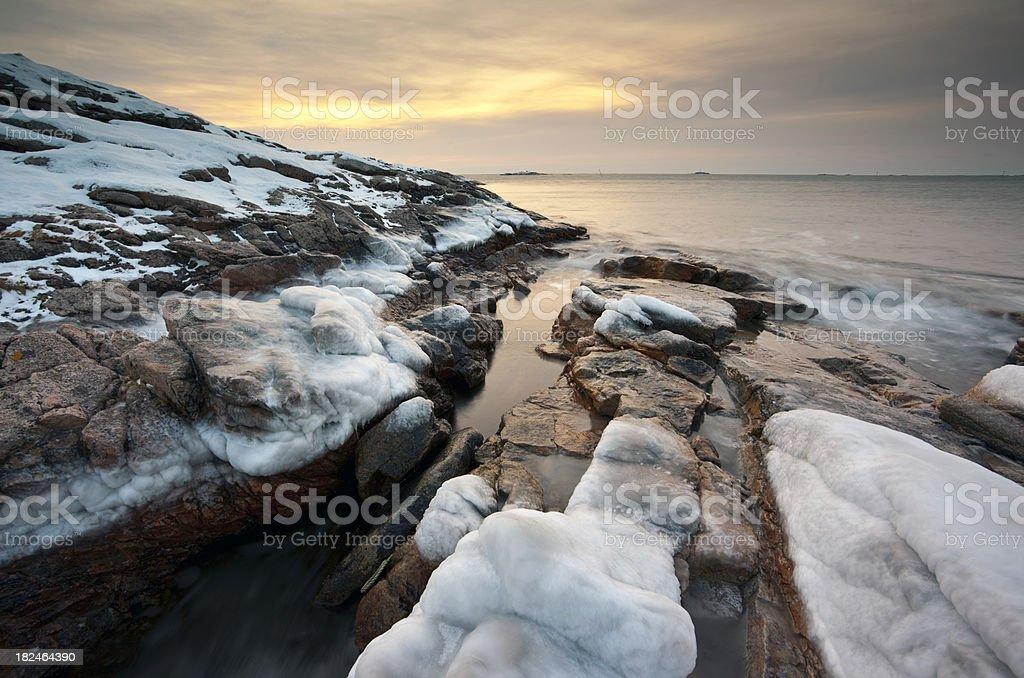 'Sunset, Bleik, AndAya.' stock photo
