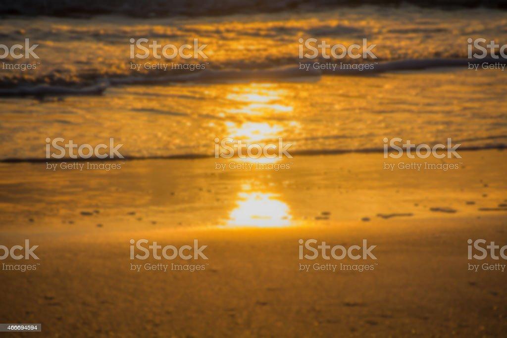 Sonnenuntergang verwischen Lizenzfreies stock-foto