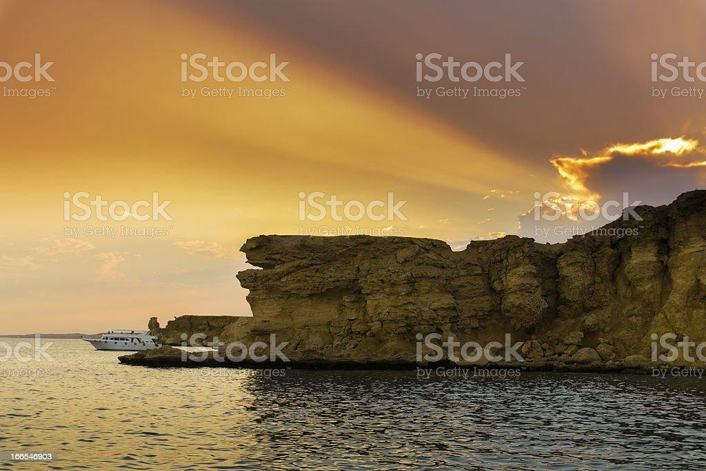 Sunset II royalty-free stock photo
