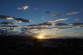 Sunset in Alice Springs