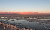 Sunset in Atacama Salar, Chile