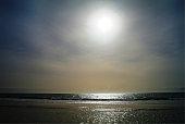 Sunset in Nouakchott beach, Mauritania
