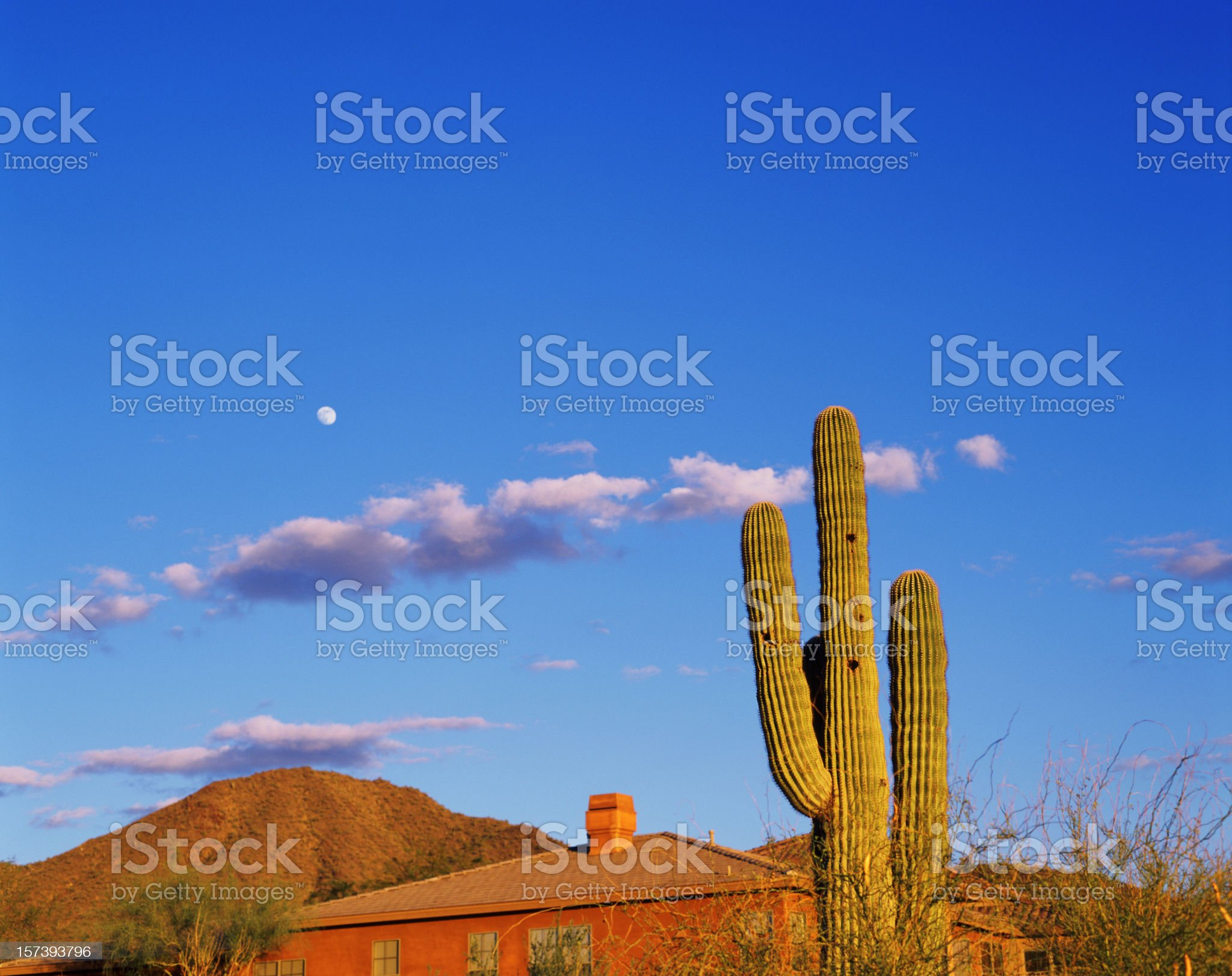 Sunset in Scottsdale no 2 royalty-free stock photo