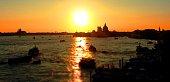 Sunset in Venice, Canale di San Marco