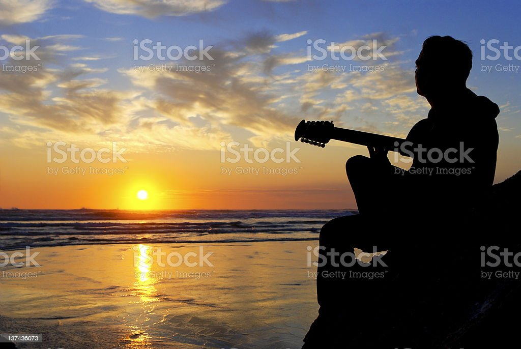 Sunset Inspiration royalty-free stock photo