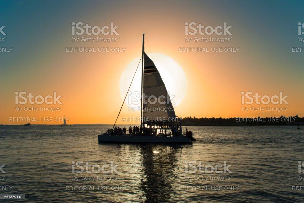 Sunset Key, Florida Keys stock photo