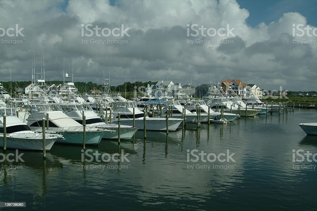 Sunset Marina royalty-free stock photo