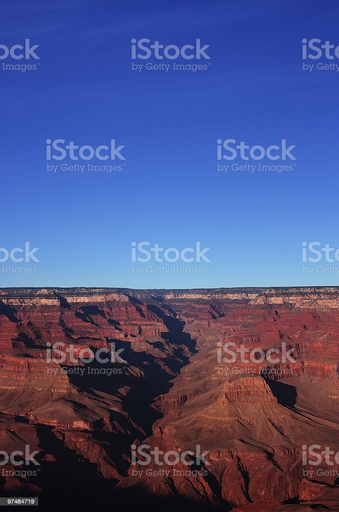Sunset on the Grand Canyon 2 royalty-free stock photo