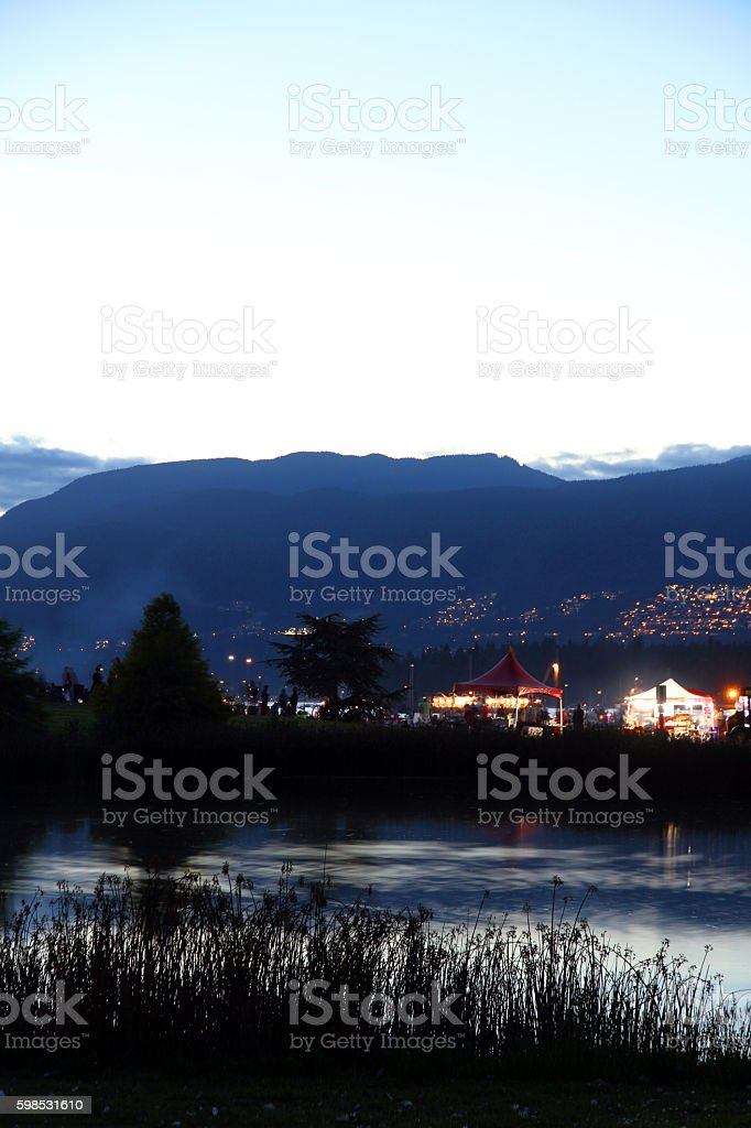 Sunset Park stock photo