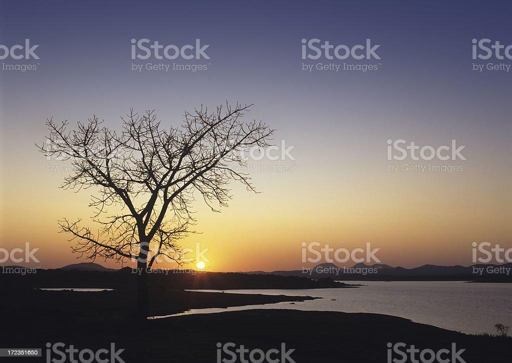 Sunset (image size XXL) royalty-free stock photo