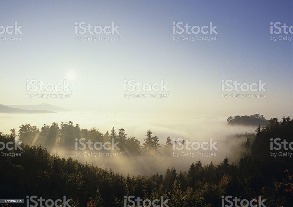 Sunset  (image size XXL) stock photo