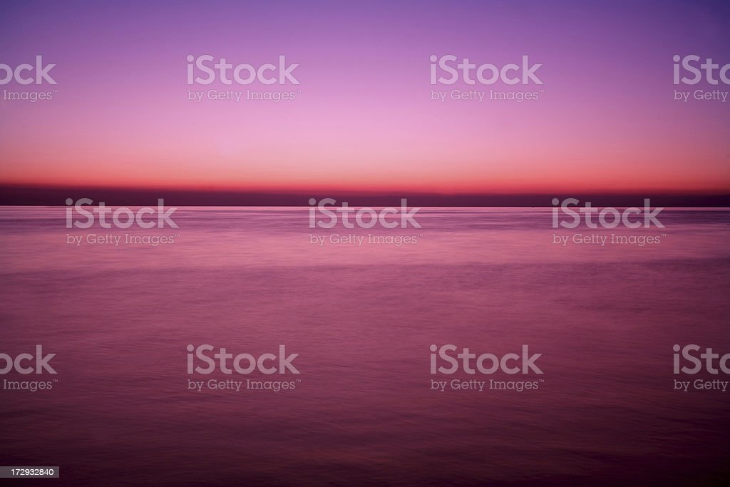 Sunset royalty-free stock photo