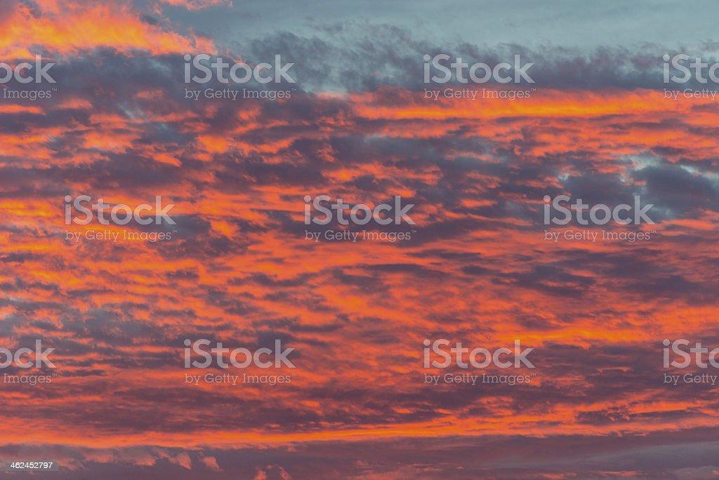 Pôr-do-sol foto royalty-free
