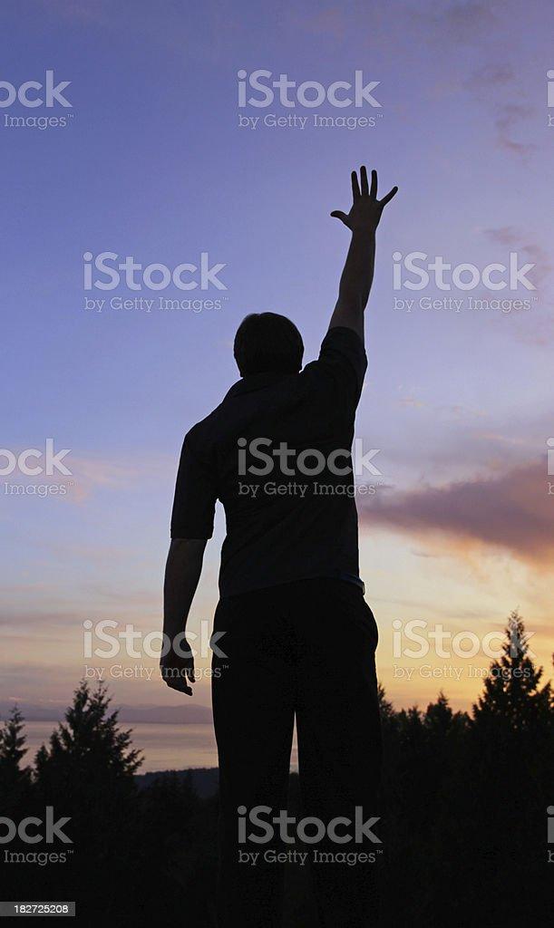 Sunset Praise stock photo