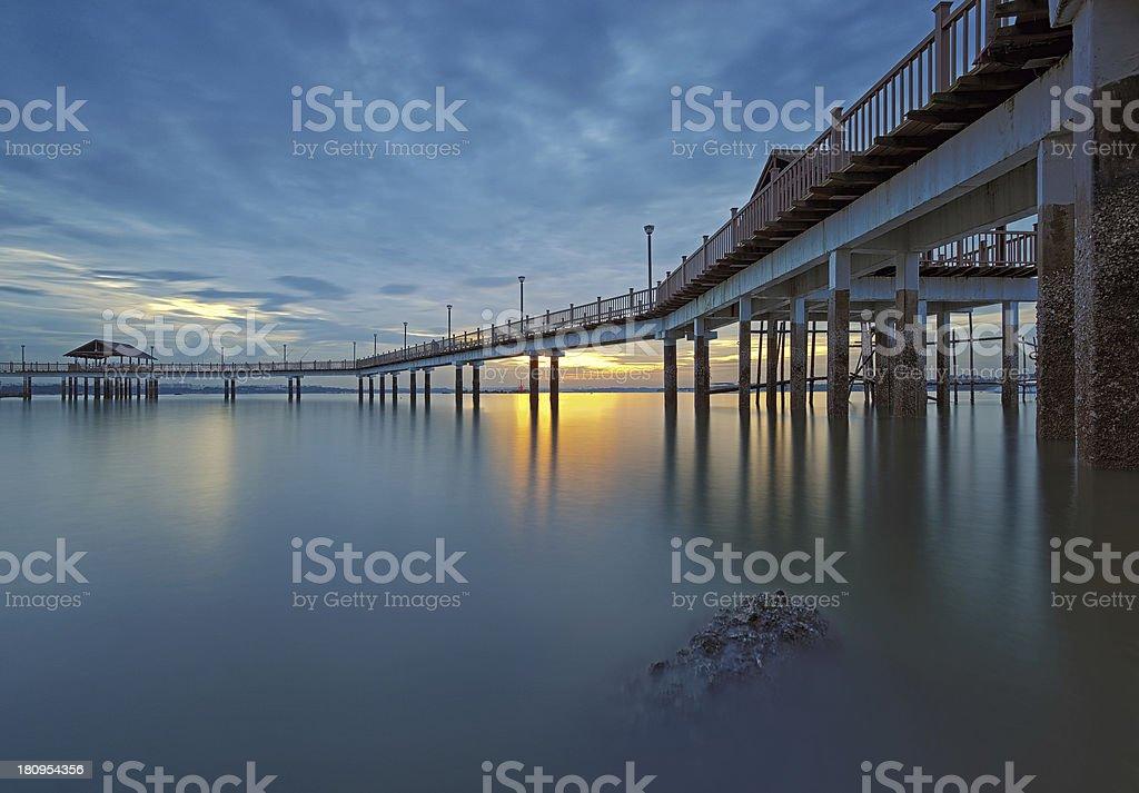Sunset Reverie stock photo