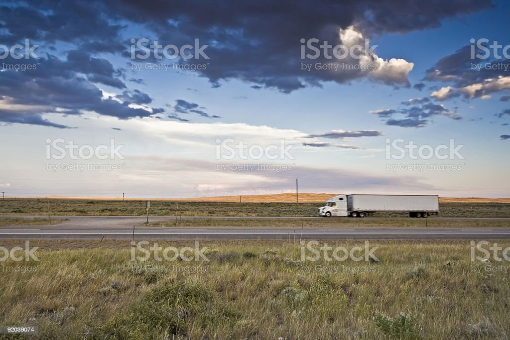 Sunset Ride royalty-free stock photo
