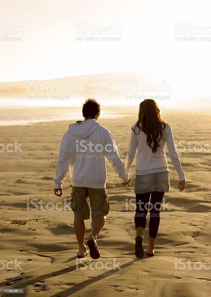 Sunset Romance royalty-free stock photo
