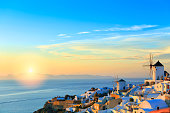 Sunset Santorini Oia