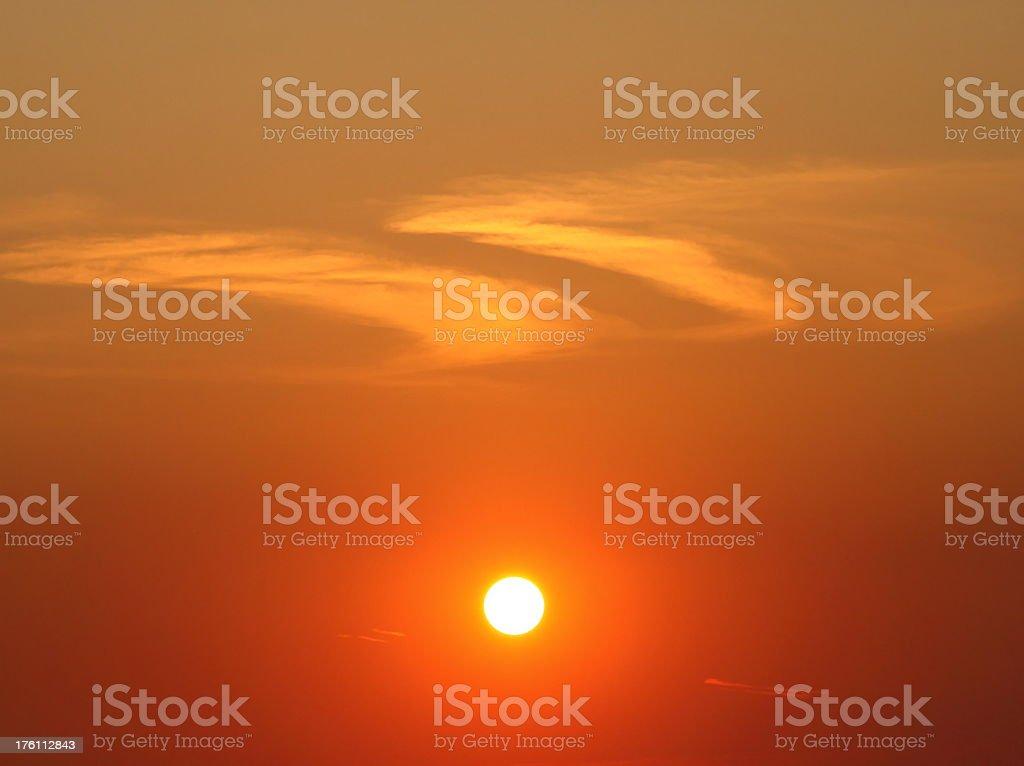 Sunset Scene royalty-free stock photo