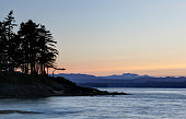 Sunset Silhouette on Gabriola Island