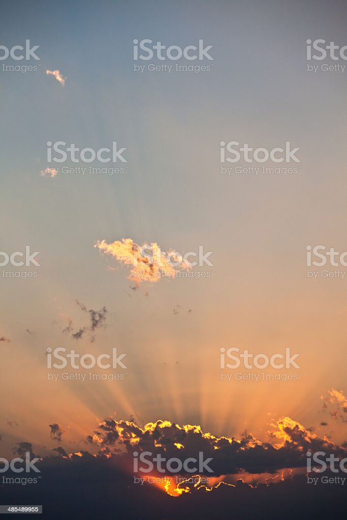 Sunset Sky royalty-free stock photo