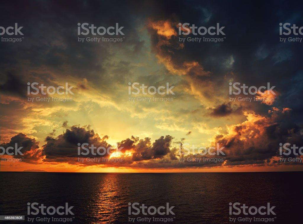 Sunset stock photo stock photo