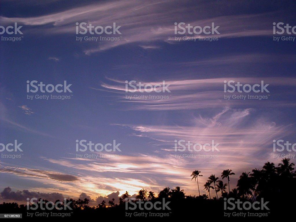 Sunset, Sunrise, Dawn, Dusk royalty-free stock photo