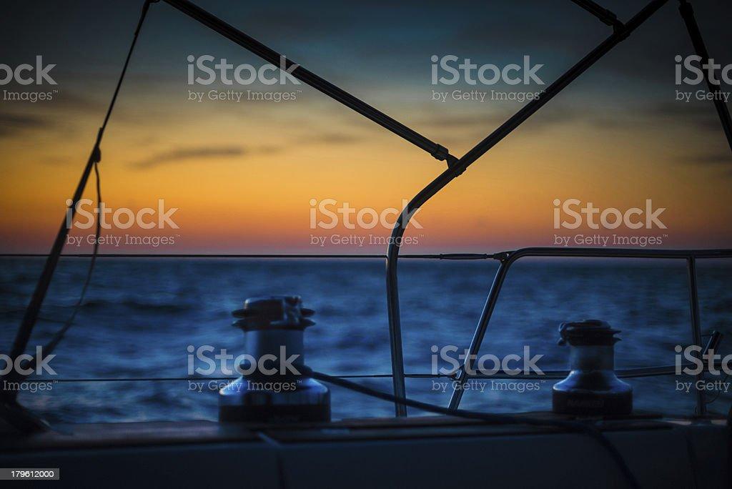 Sunset / Sunrise royalty-free stock photo