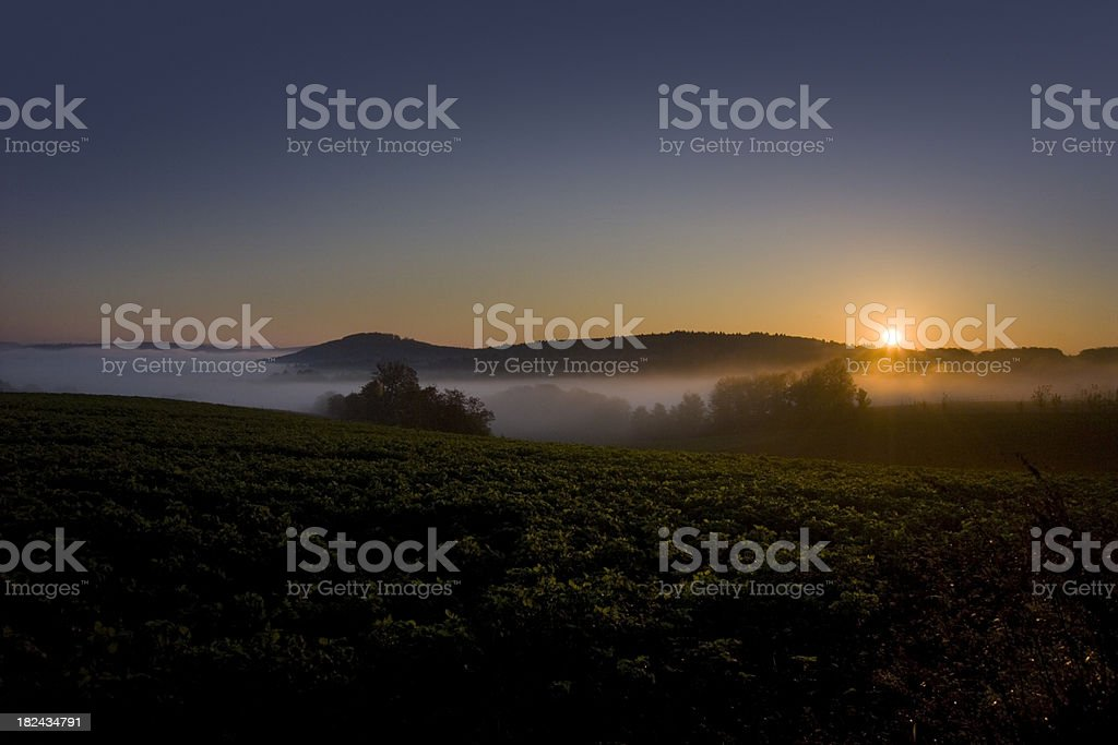 Sunset Sunrise stock photo