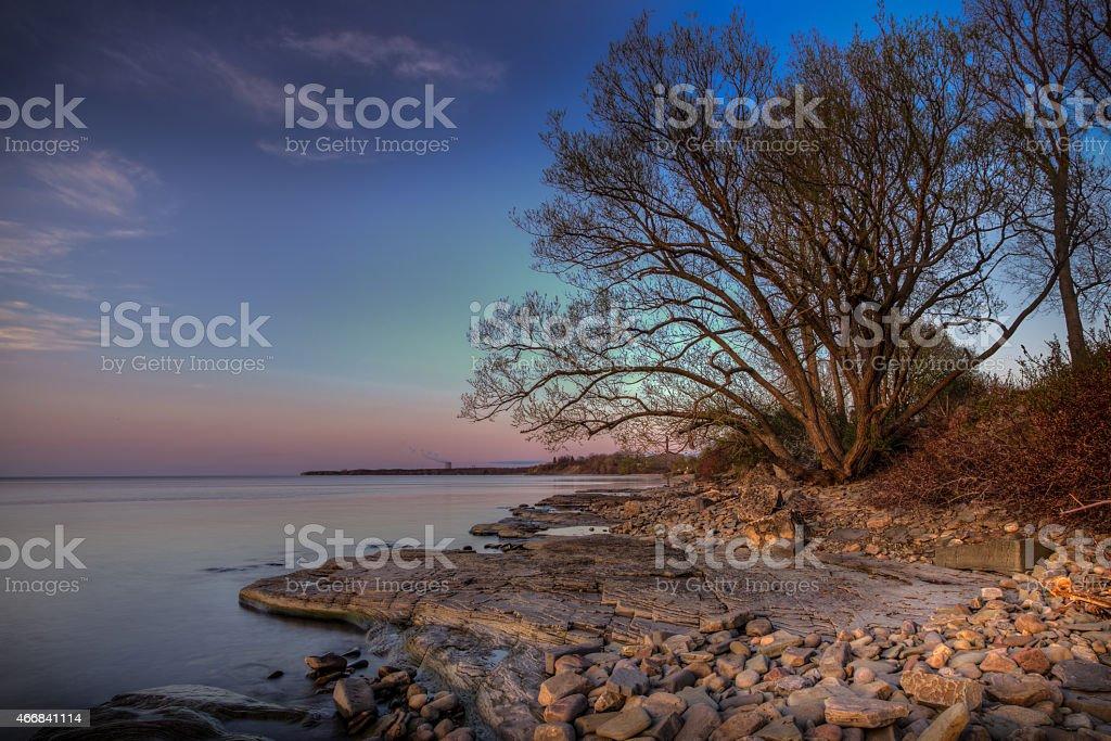 Sunset Tranquility 0237M stock photo