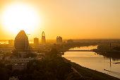 Sunset view of Khartoum, Sudan