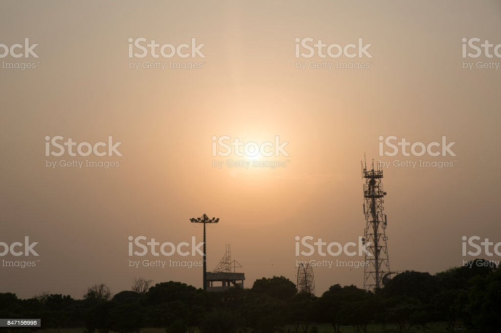 Sunset View stock photo