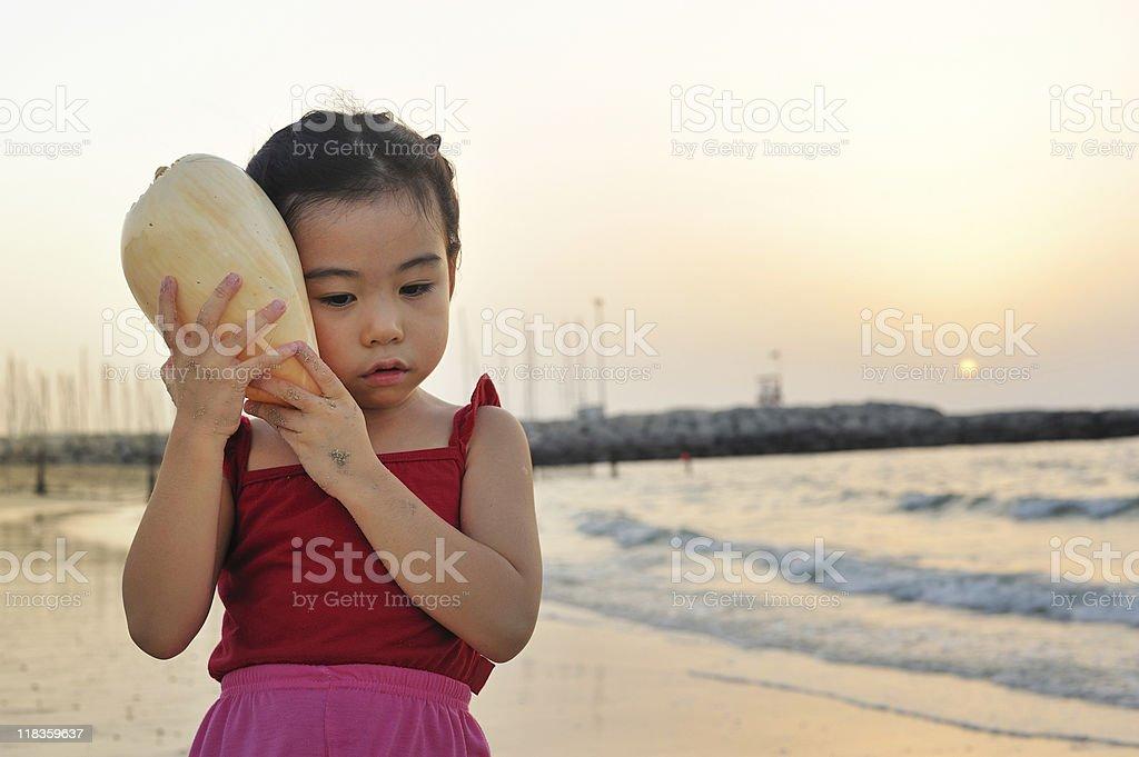sunset whisper stock photo